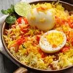 Egg Dum Biryani